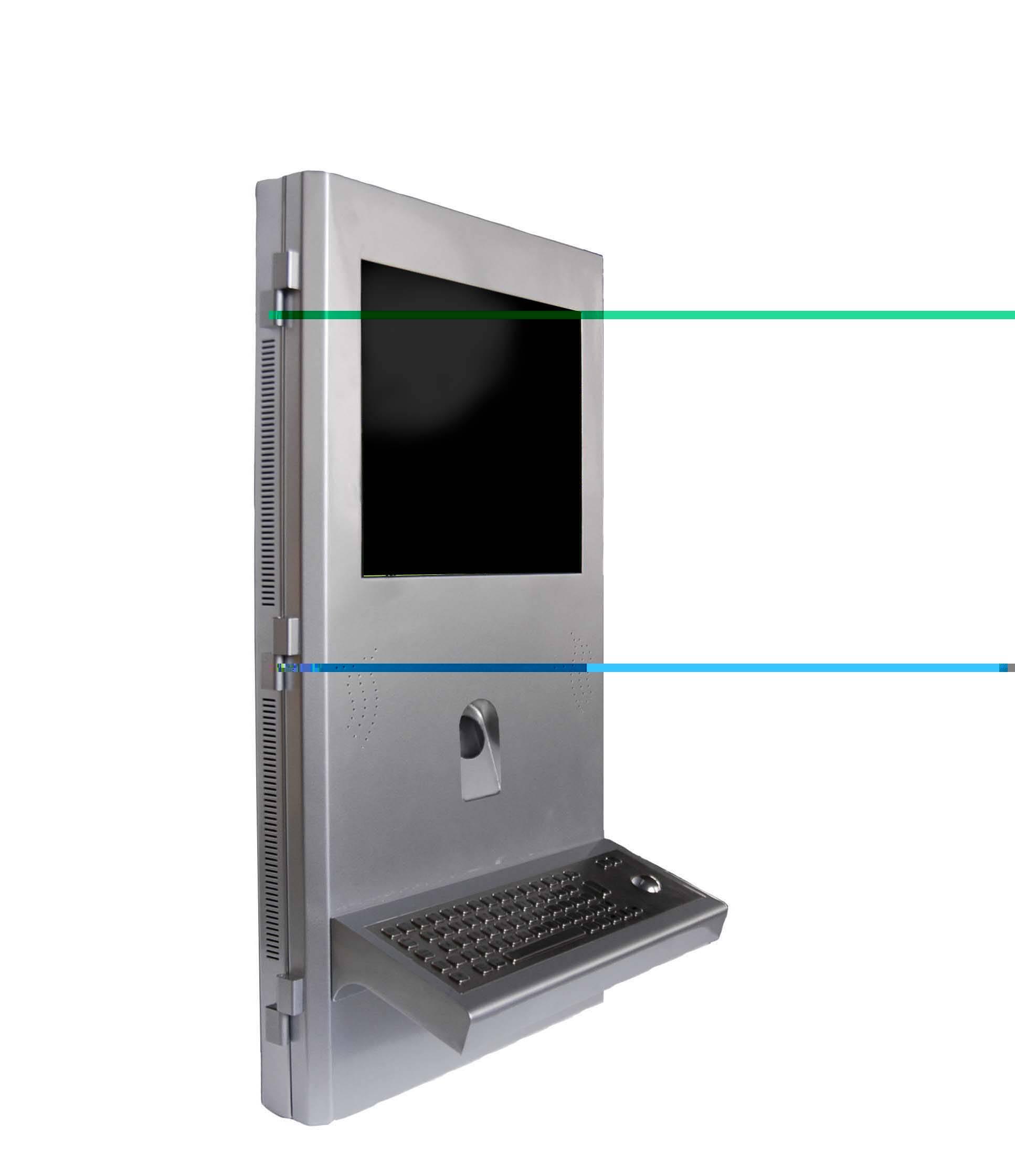 S4 biometric finger print registration self service terminal