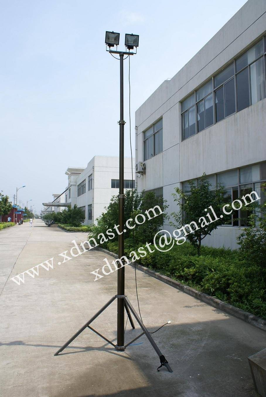 Mobile Communication Towers and Antenna Telescopic Masts and High Masts