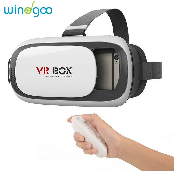 2016 VR BOX 2.0 Virtual Reality Glasses, 3D VR Headsets for 4.7~6 Inch Screen Smart Phone