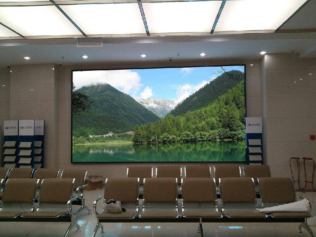 Interior P5 LED Panel Video Wall Screen