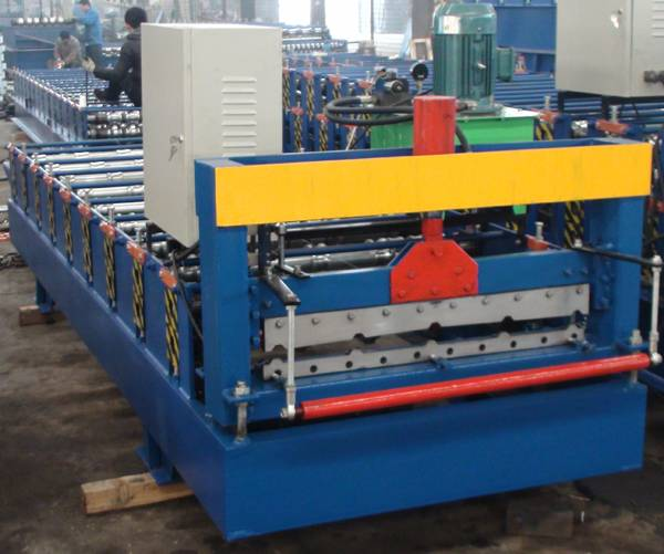 China Made 840 /910 Roofing Sheet Double Layer Machine Floor Deck Roll Forming Machine