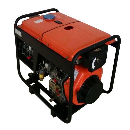 HD8500 6-7.5KVA open frame air-cooled diesel power generator