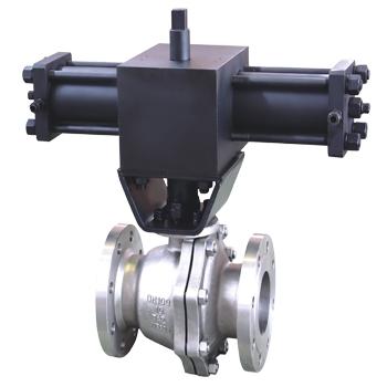 Metal seated Titanium ball valve