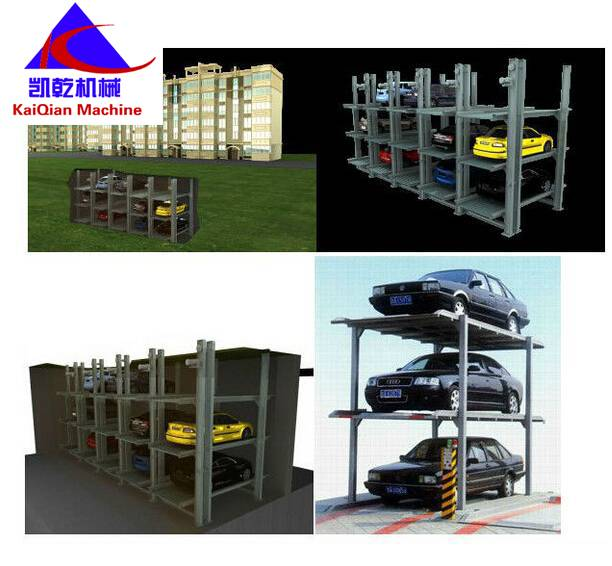 underground parking design residential apartment mechanical parking system