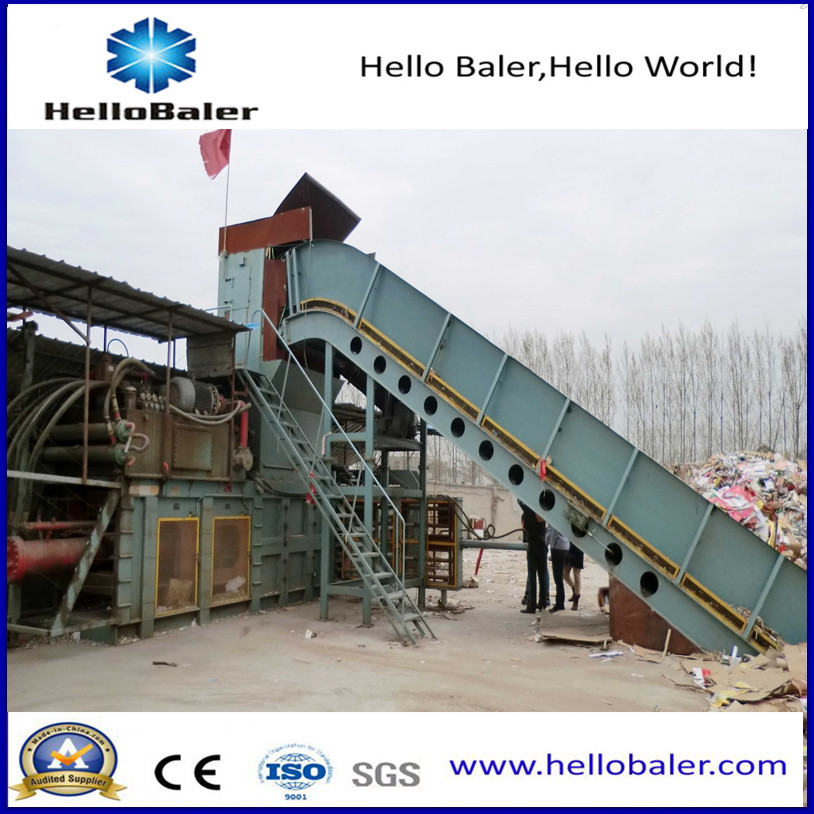 China Hydraulic Press Automatic Baler for Waste Recycling