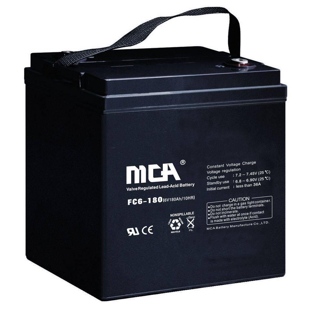 6V180AH AGM battery