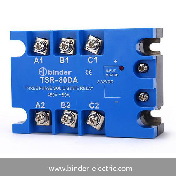 Three phase solid state relay TSR-80DA