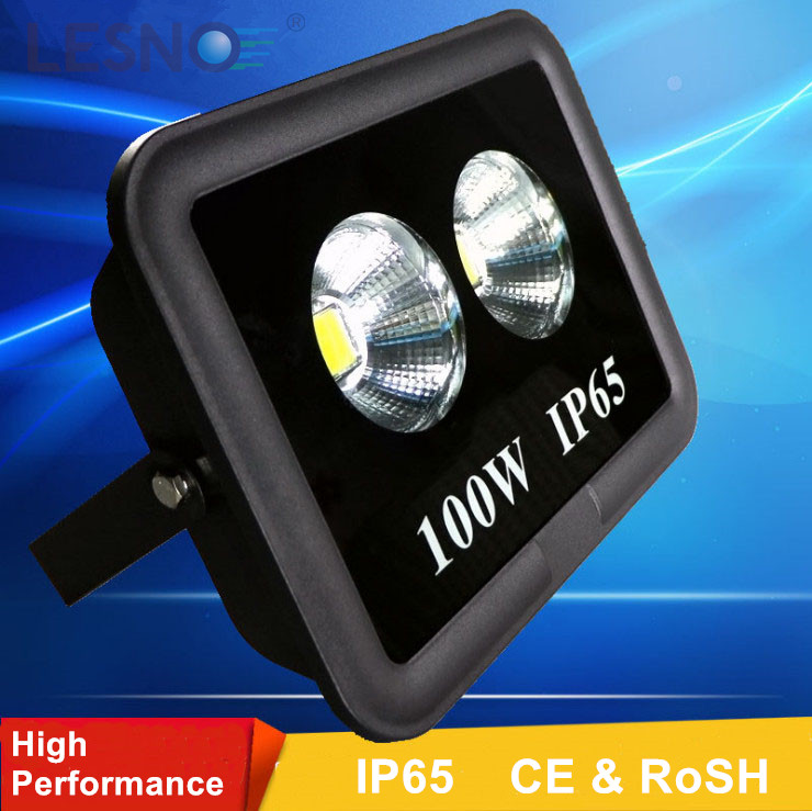 High efficiency and performance wide beam angle IP65 IP66 IP67 COB LED Flood Light 20-500w.