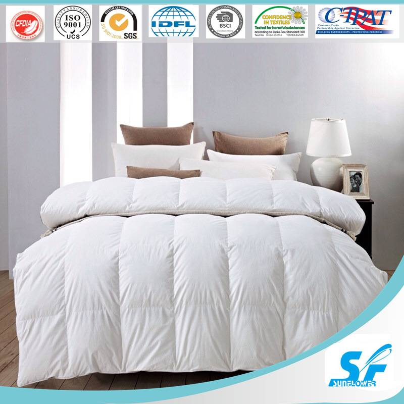 China factory hollow fiber polyester microfiber comforter/quilt