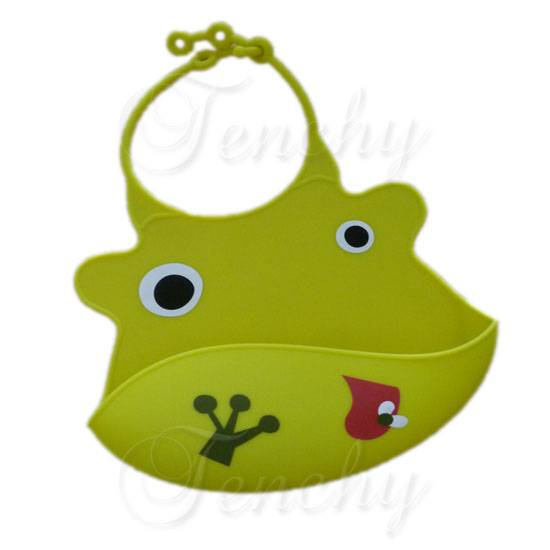 FDA approved silicone baby bib China factory supplier