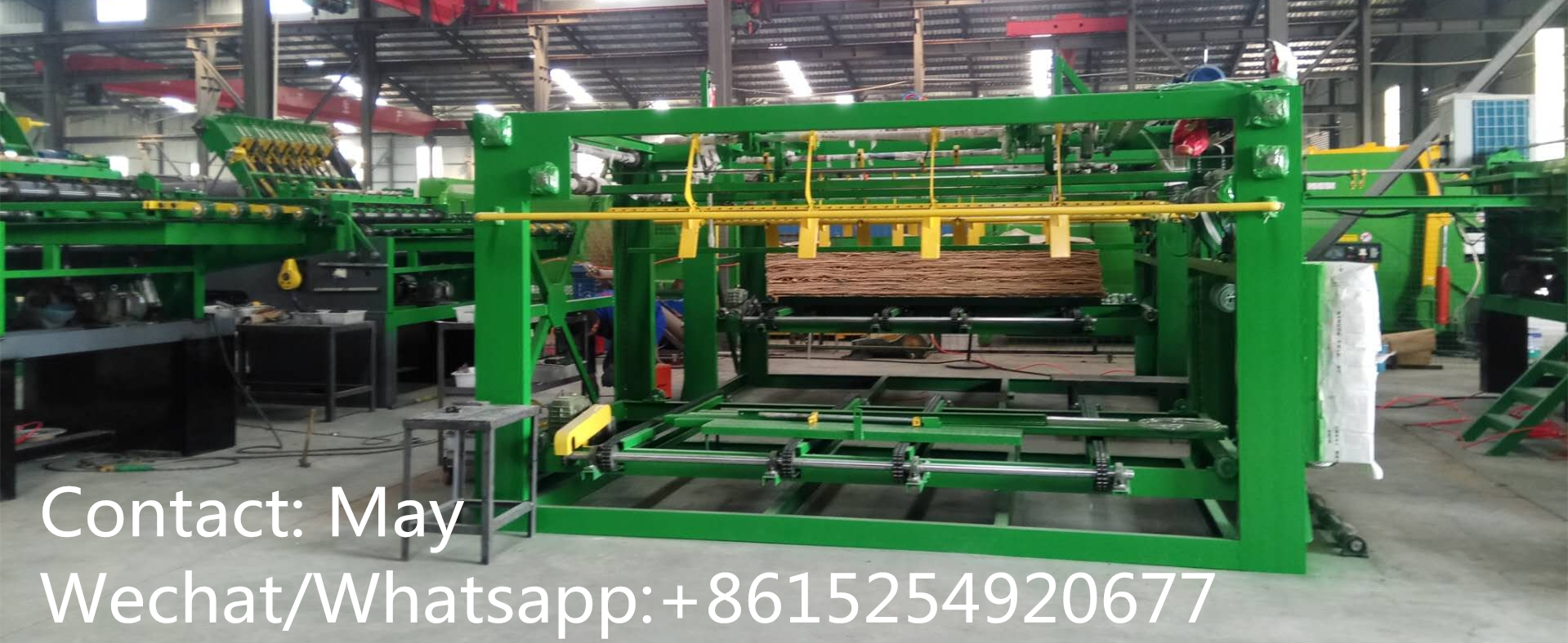 Automatic plywood core veneer composer machine