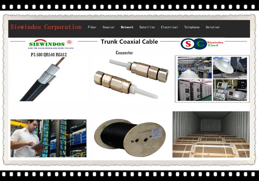 Siewindos Telecom Trunk Coax Catv Cable P3.500 RG500