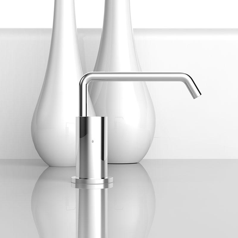 Countertop hands free automatic liquid soap dispenser