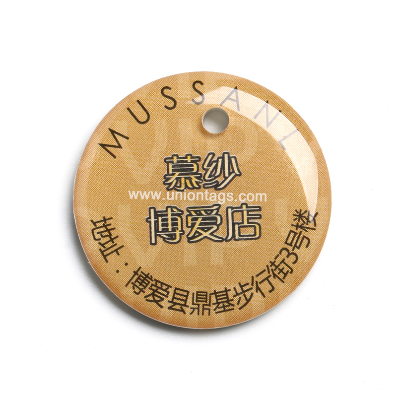 Factory Price MF1 S50 chips Custom RFID Epoxy Tag