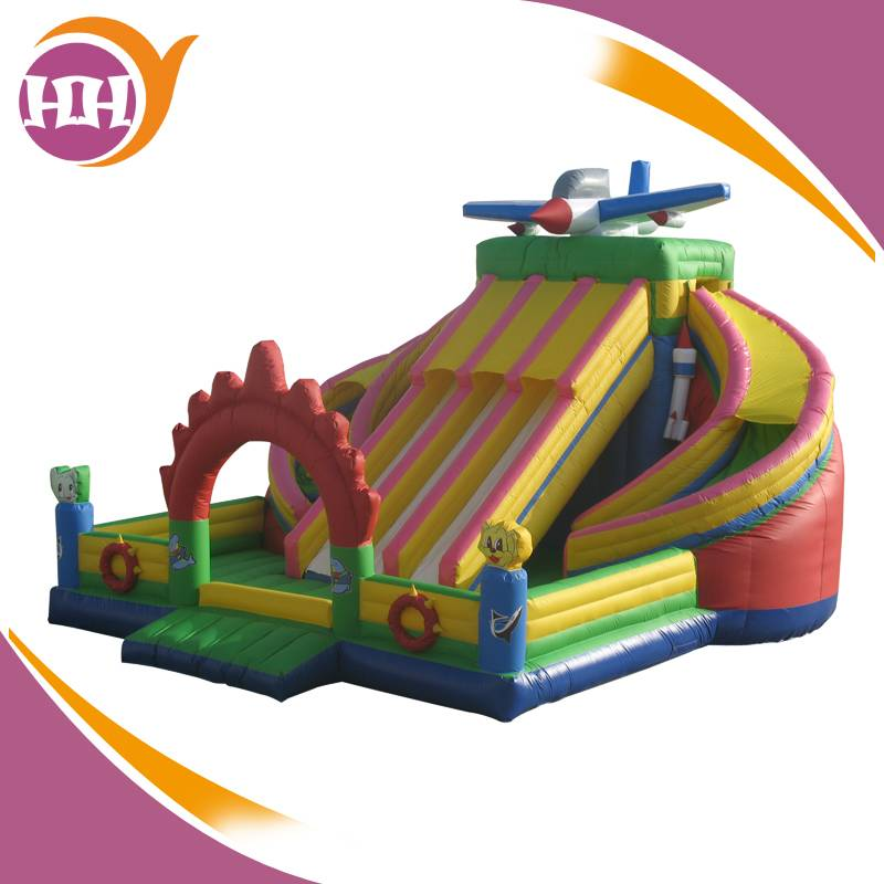 Exciting Magic Inflatable Slide On Sales