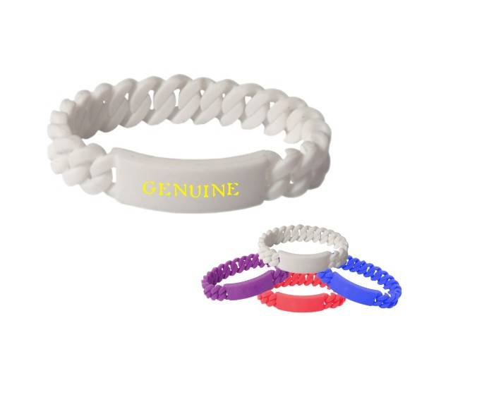 promotional silicone bracelets/halloween accessories/hot sale high quality 2014 new twist silicone w