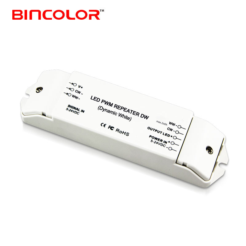 BC-962 two channels manual switch power repeater 2ch led amplifier 5v-24v