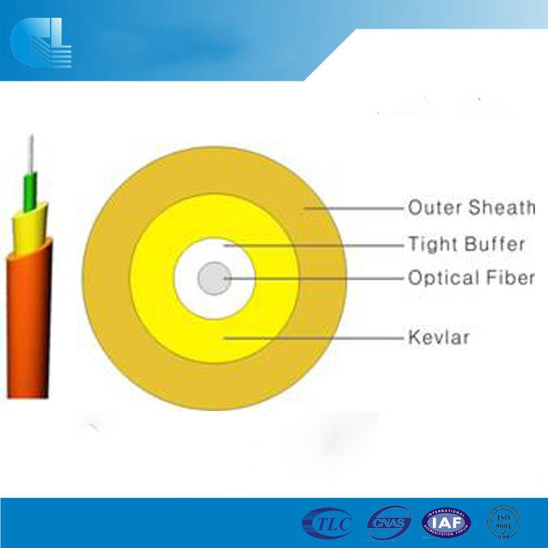 Indoor Simplex Fiber Optic Cable(GJFJV-Single fiber)