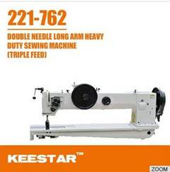 Double needle sewing machine 221-762