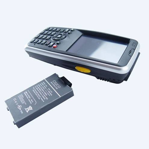 Rugged handheld barcode data collector with RFID