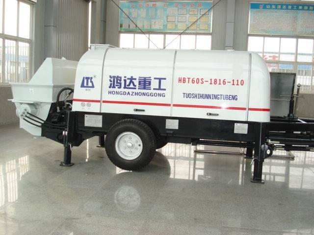 60m³/h diesel Trailer Concrete Pump