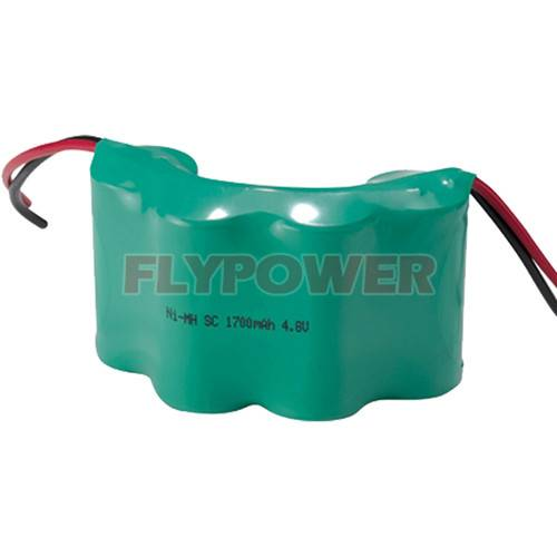 Ni-MH Battery, 4.8V Sc1700mAh High Power Rechargeable Battery Pack (4S of FH-Sc1700P)