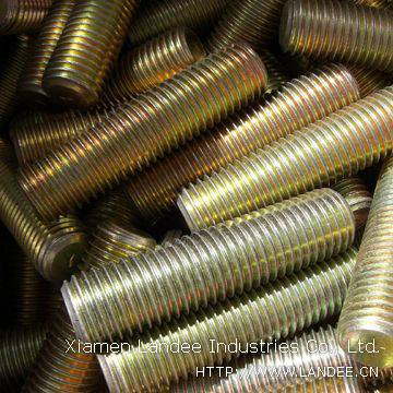 Threaded Bars:1/4 to 4 inches