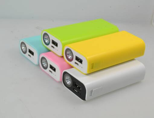 2016 portable power bank 5200mAh power charger LED light