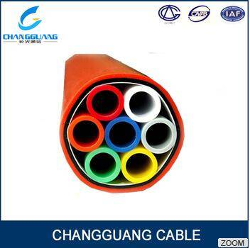 Hot Sale Smooth Inner Wall Use HDPE Round Tyle Direct Buried Armoured Bundles Microducts Tube for Ai