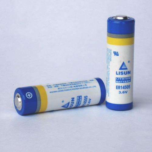 LISUN Primary lithium battery ER14505,ER14505M
