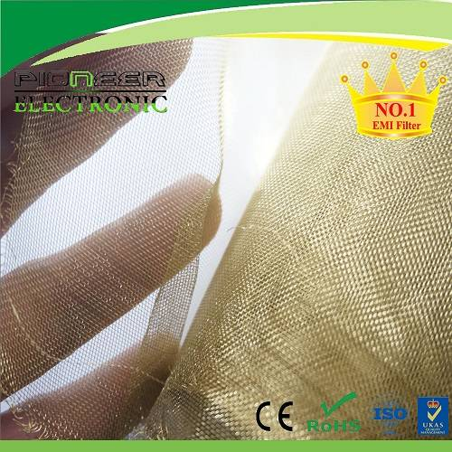 RFI/EMI shielding brass wire mesh for shielding room