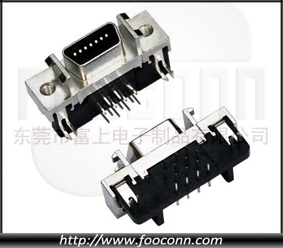 SCSI 14Pin Connector Ringht Angle Female