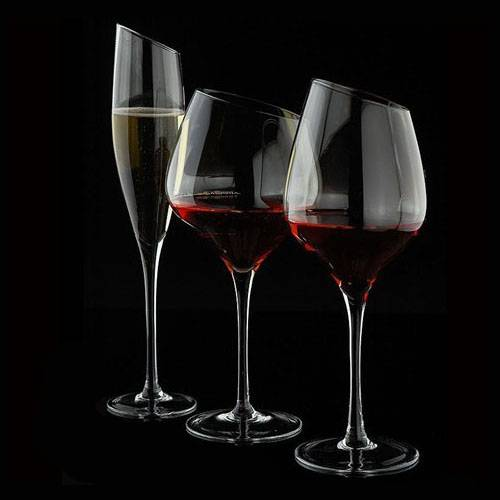 Hand made crystal red wine glass cup; White wine glass cup; Champagne flute ;