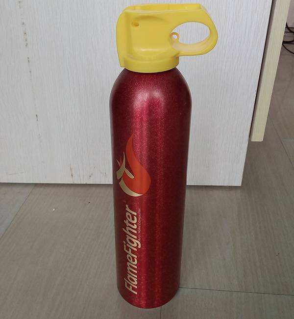 Portable 600g mini aluminum abc powder car fire extinguisher