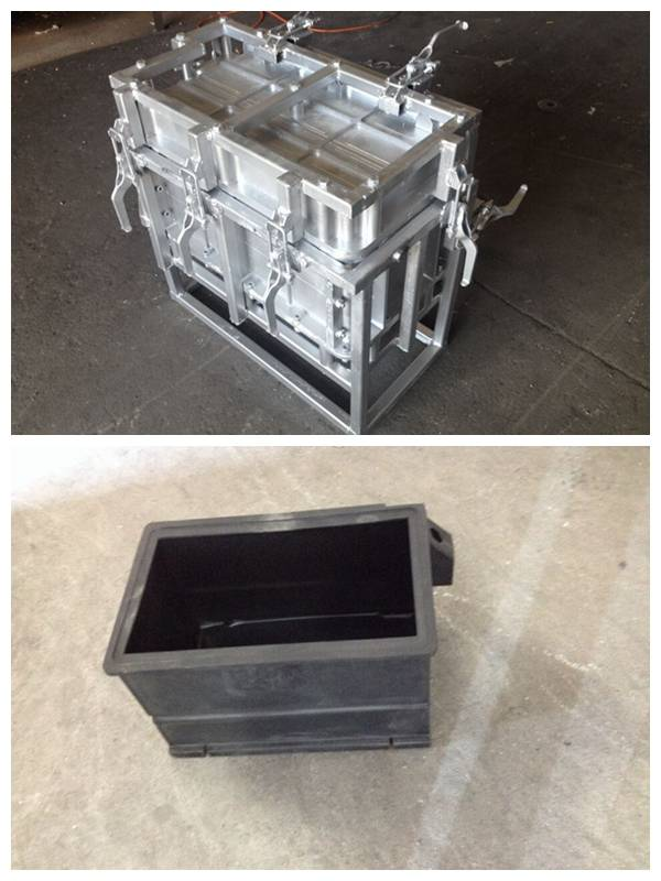 Rotomolding Box/case Mould, Aluminum Roto Mold, Rotational Mould