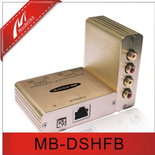 Dual Stereo Hi-Fi Audio Balun