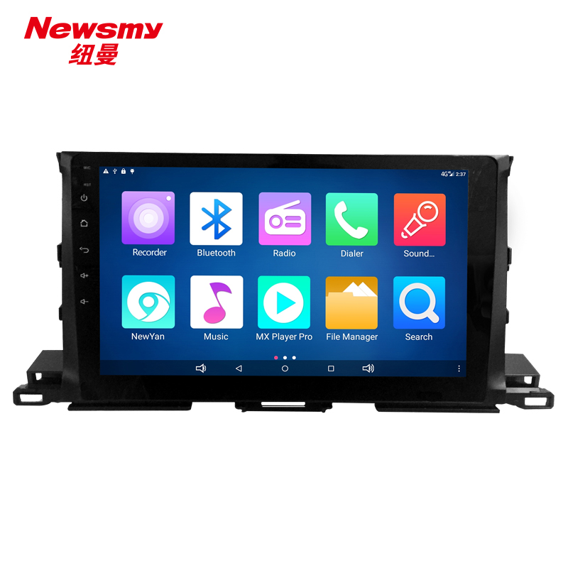 NM7118-H-H0 (Toyota Highlander 15-16) no canbus Newsmy CarPad4 head unit Android 5.0 with Newyan APP