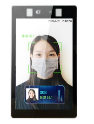 SS-BioT-8T Face recognition+Temperature testing 8-Inch Smart Panel