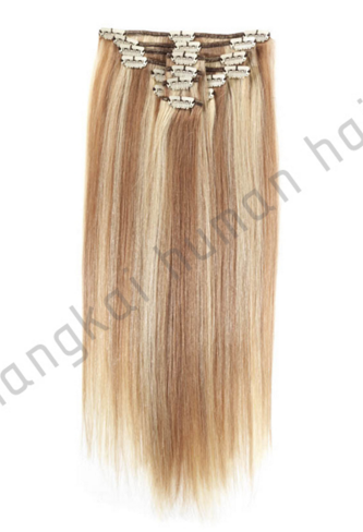 Factory Supply Piano 18+613 Color Clip in Hair Extension, Tangle Free