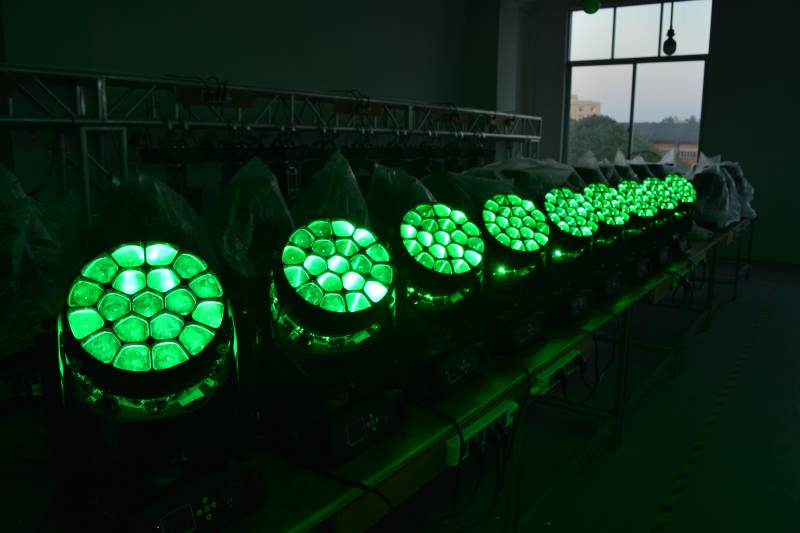 19PCS Bee-Eye LED Moving Head Light