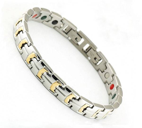 Stainless Steel Jewelry Blood Pressure Bracelet