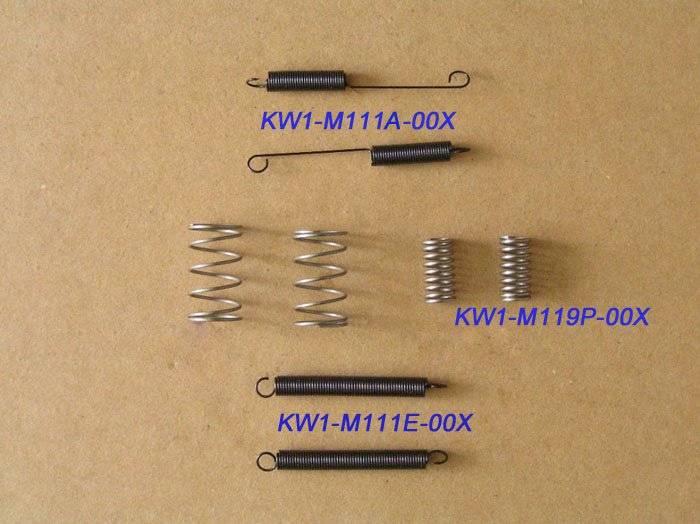 SPRING KW1-M111A-00X KW1-M119P-00X KW1-M119K-00X For YAMAHA CL FEEDER PART 84mm 0603 0805