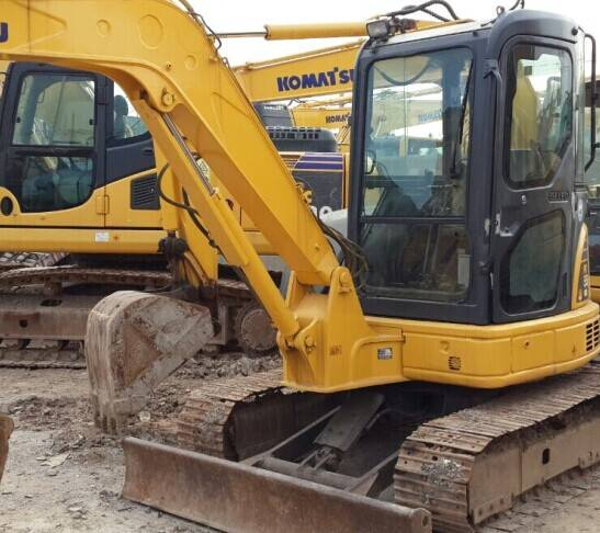 Used Excavator Komatsu PC55MR-2