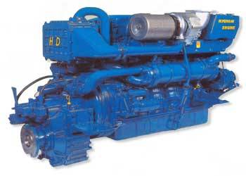 Marine Propulsion Diesel Engine (H6D7TA)