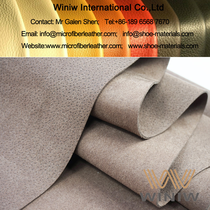 Full Grain Microfiber Leather for Leather Shoes