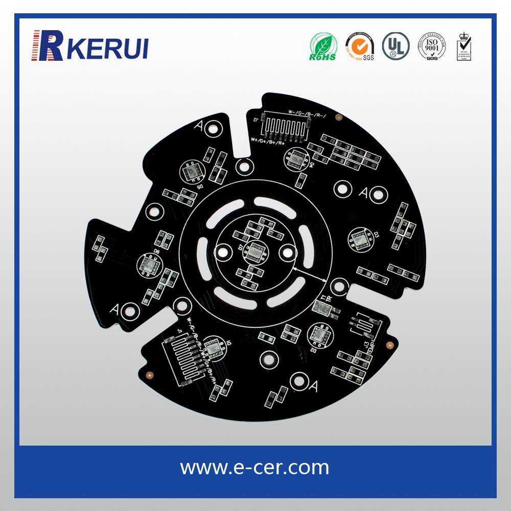 High power Fr4 Single Layer LED PCB Printed Circuit Board Maker