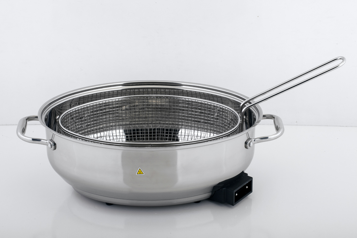 Manufacturer 304SS Electric Oval Roaster with non-stock cover