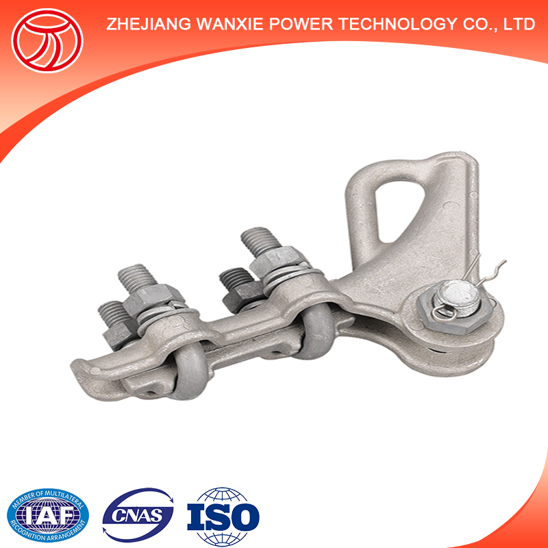 Dead End Clamp Adss Cable Tension Clamp For Pole Line Hardware Fitting