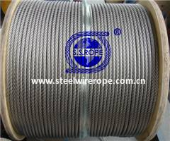 Stainless Steel Wire Rope Military Spec. MIL 83420