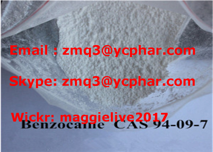 Local Anesthetic Drugs Benzocaine hydrochloride Powder For Pain Relief CAS 23239-88-5